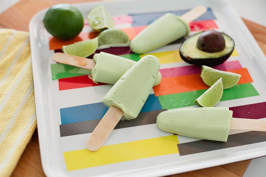 avocado popsicle